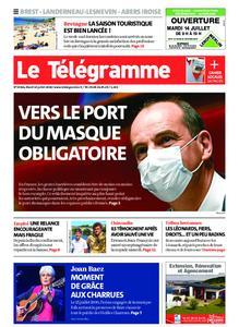 Le Télégramme Brest Abers Iroise – 14 juillet 2020