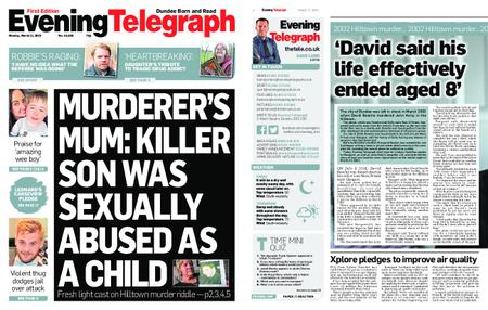 Evening Telegraph First Edition – March 11, 2019