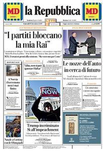 la Repubblica - 19 Dicembre 2019