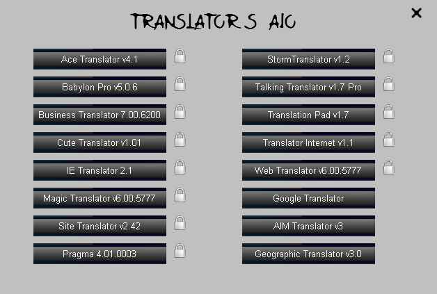 Translator Apps AIO