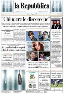 la Repubblica - 13 Agosto 2020