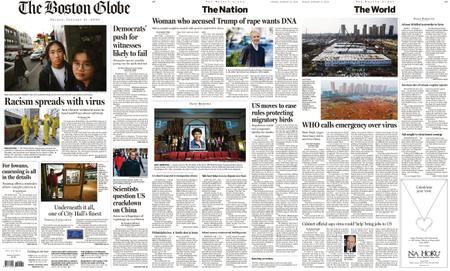 The Boston Globe – January 31, 2020
