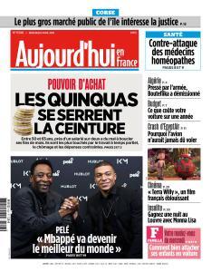 Aujourd'hui en France du Mercredi 3 Avril 2019