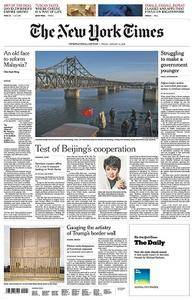 International New York Times - January 12, 2018