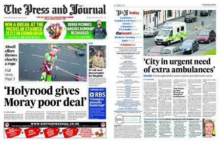 The Press and Journal Moray – December 04, 2017