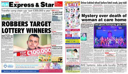 Express and Star City Edition – October 11, 2017