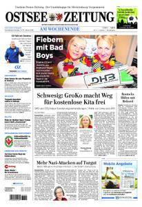 Ostsee Zeitung Wolgast - 13. Januar 2018