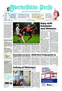 Oberhessische Presse Marburg/Ostkreis - 12. Oktober 2017