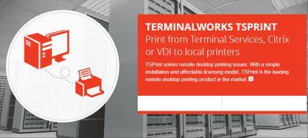 TerminalWorks TSPrint Server 3.0.6.11