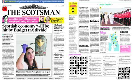 The Scotsman – November 01, 2018
