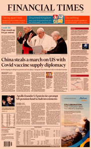Financial Times Europe – 22 October 2020