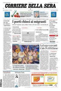 Corriere della Sera - 11 Giugno 2018