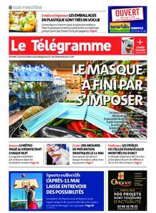 Le Télégramme Quimper – 04 mai 2020
