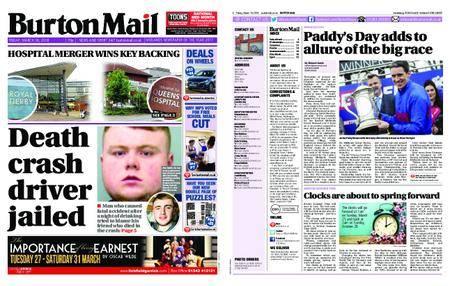 Burton Mail – March 16, 2018