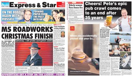 Express and Star Sandwell Edition – September 14, 2019