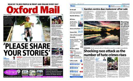 Oxford Mail – July 27, 2018