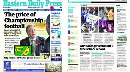 Eastern Daily Press – November 01, 2017