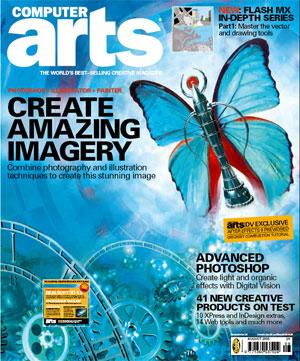Computer Arts Magazine back issues set 1