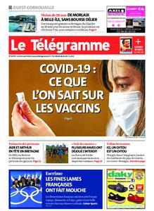 Le Télégramme Ouest Cornouaille – 02 août 2021