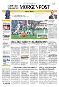Solinger Morgenpost – 07. Oktober 2019