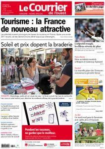 Le Courrier de l'Ouest Angers - 08 juillet 2018