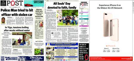 The Guam Daily Post – November 03, 2017
