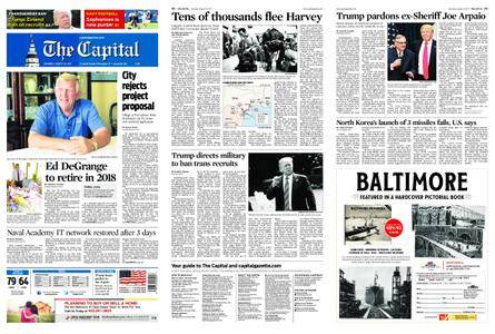 The Capital – August 26, 2017
