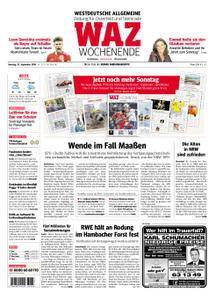 WAZ Westdeutsche Allgemeine Zeitung Oberhausen-Sterkrade - 22. September 2018
