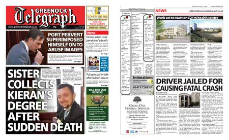 Greenock Telegraph – January 12, 2019