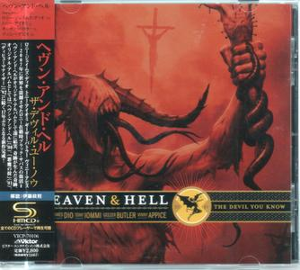 Heaven & Hell - The Devil You Know (2009) {Japan 1st Press} Repost / New Rip