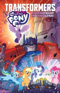 IDW-My Little Pony Of Transformers Friendship In Disguise 2021 Hybrid Comic eBook
