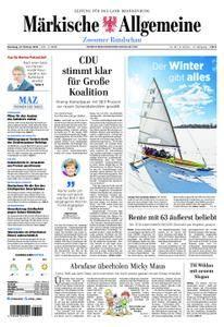 Märkische Allgemeine Zossener Rundschau - 27. Februar 2018