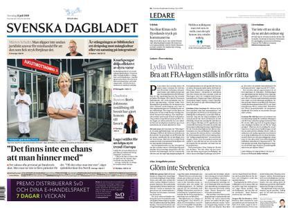 Svenska Dagbladet – 11 juli 2019