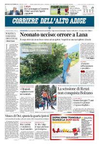 Corriere dell'Alto Adige – 18 settembre 2019