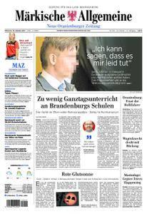 Neue Oranienburger Zeitung - 18. Oktober 2017