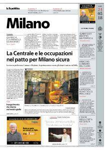 la Repubblica Milano - 24 Maggio 2018