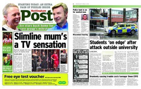Nottingham Post – April 11, 2018