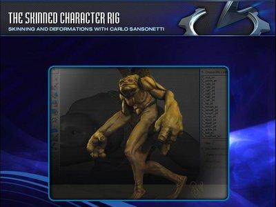 Gnomon Workshop - The Skinned Character Rig