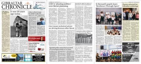 Gibraltar Chronicle – 20 March 2019