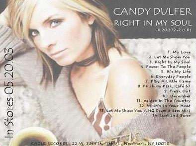 Candy Dulfer - Right in My Soul (2003)