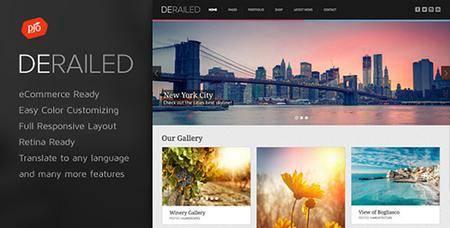 ThemeForest - DeRailed v2.3 - Photography Portfolio Theme - 6828790