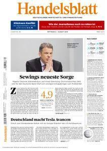 Handelsblatt - 01. August 2018