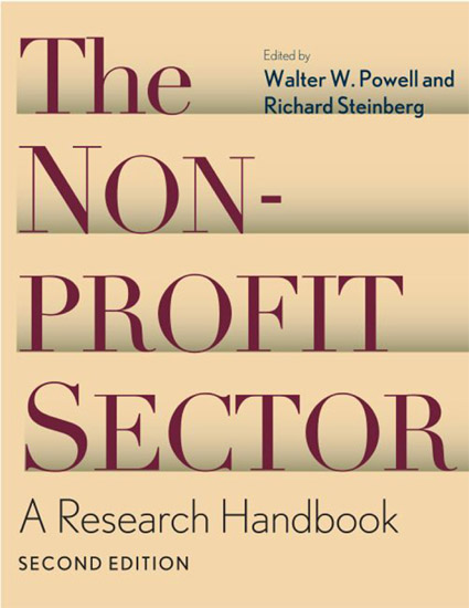 The Nonprofit Sector: A Research Handbook, Second Edition