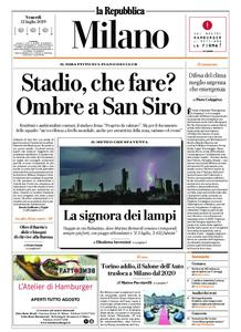 la Repubblica Milano – 12 luglio 2019