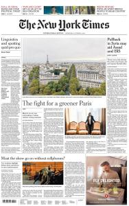 International New York Times - 9 October 2019