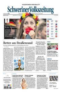 Schweriner Volkszeitung Hagenower Kreisblatt - 18. Juni 2018