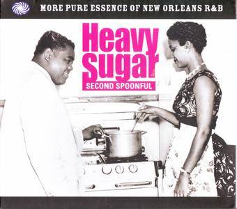 Various Artists - Heavy Sugar Second Spoonful: More Pure Essence Of New Orleans R&B (1954-1960) {3CD Fantastic Voyage FVTD131}
