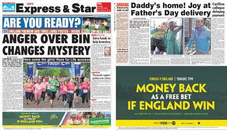 Express and Star City Edition – June 18, 2018