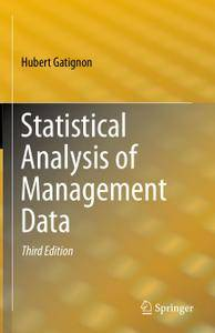Statistical Analysis of Management Data, Third Edition