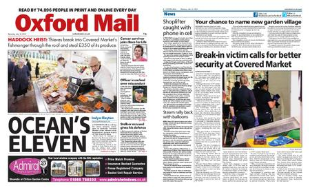 Oxford Mail – July 13, 2019